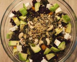 Poletna solata s kvinojo (zmagovalni recept nagradne igre)