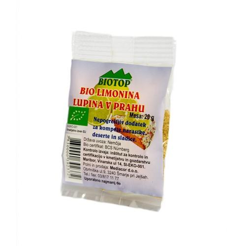 BIO limonina lupina v prahu Biotop 20g.