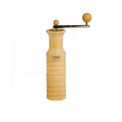 Leseni ročni mlin za mletje žit na kamne Schnitzer Ligno manual
