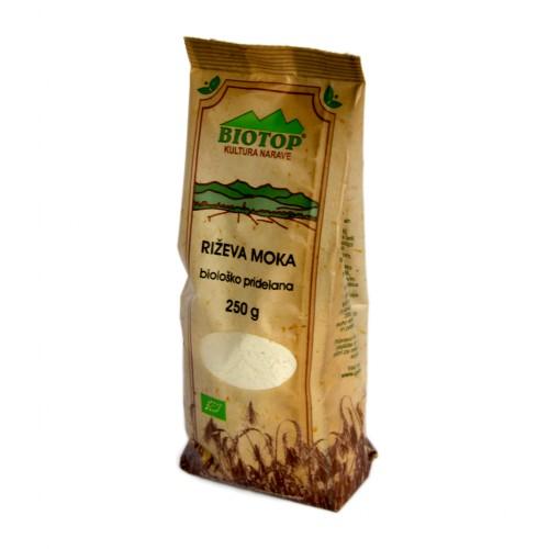 BIO riževa moka Biotop 250g.