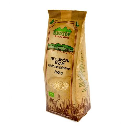 BIO sezam seme neoluščeno Biotop 250g.
