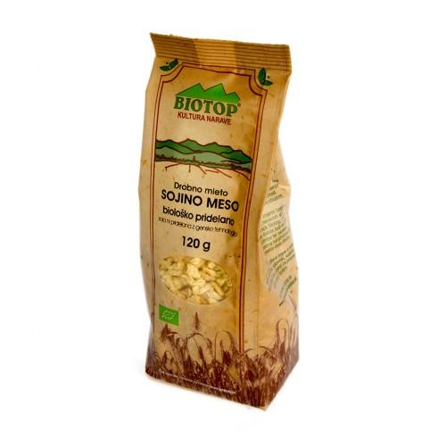 BIO drobno mleto sojino meso Biotop 120g.