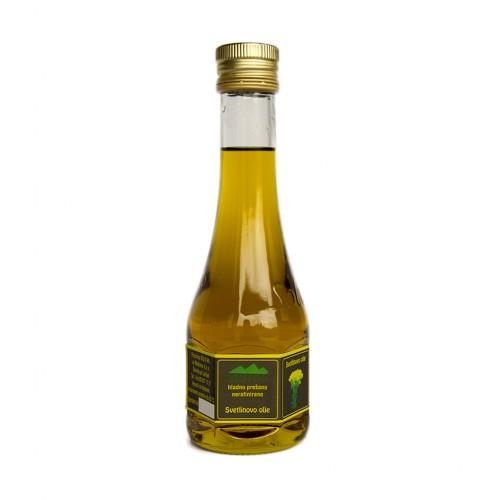 Svetlinovo olje hladno prešano nerafinirano Biotop 200ml.