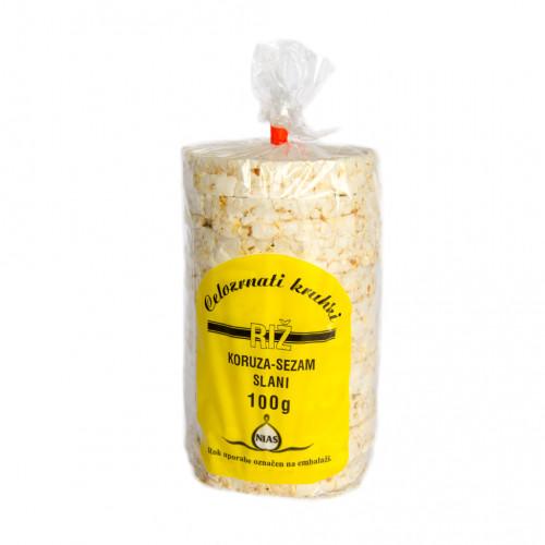 Slani riževi kruhki 100g.