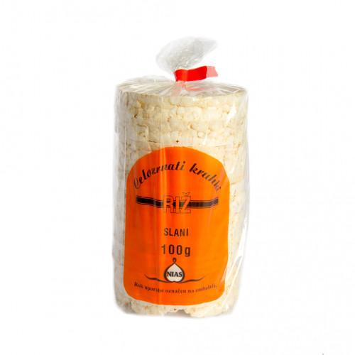 Slani vaflji s koruzo in sezamom 100g.