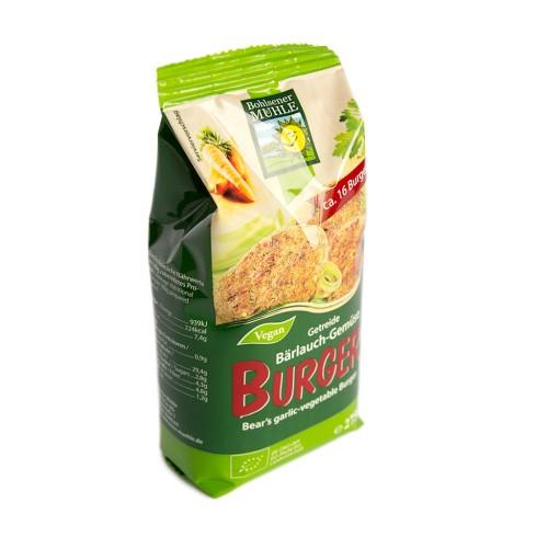 BIO sesekljani žitno zelenjavni zrezek s čemažem