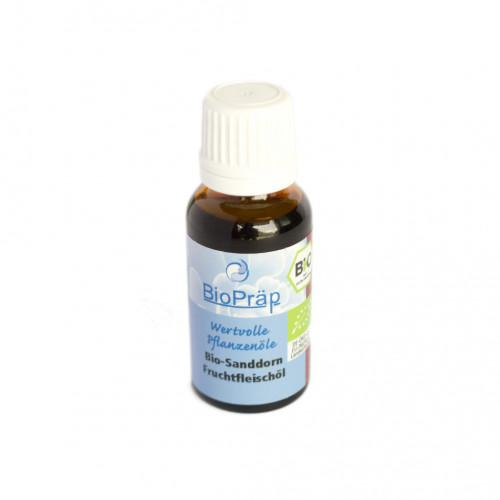 BIO olje iz sadnih jagod rakitovca za prehrano in kozmetiko 20ml.
