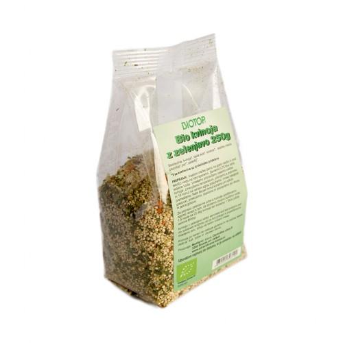 BIO kvinoja z zelenjavo Biotop 250g.