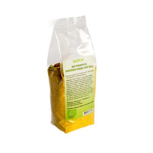 BIO polenta s posušeno zelenjavo Biotop 330g.