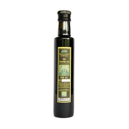 BIO olje iz konoplje Biotop 250ml.