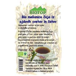 BIO čaj iz ajdovih cvetov in listov 30g