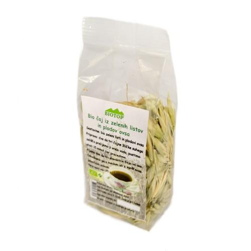 BIO čaj iz zelenih listov ovsa 25g.