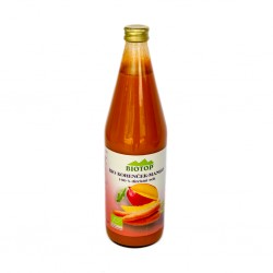 BIO 100% sok mango in korenje 0,75l.